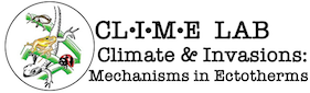 Climate and Invasions: Mechanisms in Ectotherms Logo